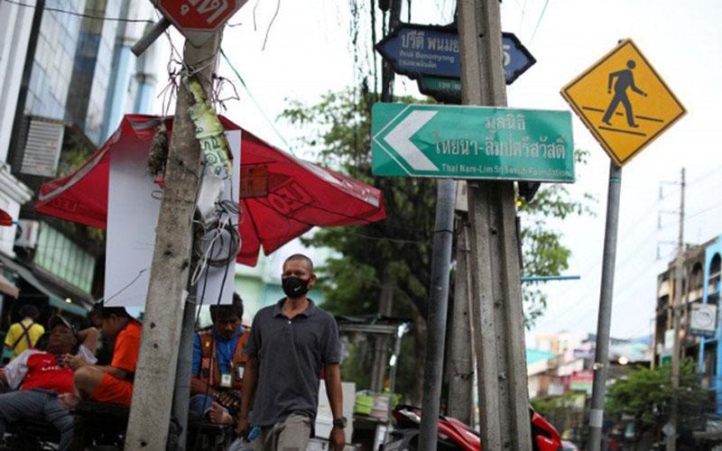 Suasana Bangkok, Thailand, pada 19 Juni 2020./Antara - Reuters