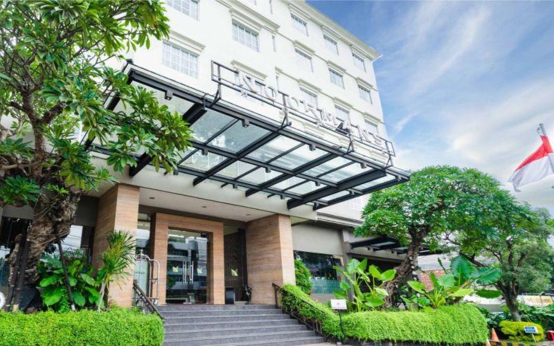 Noormans Hotel Semarang merayakan ulang tahun keenam dengan menyelenggarakan sejumlah acara seperti donor darah dan fun bike. (Foto: Istimewa)