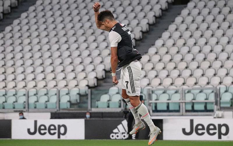 Penyerang Juventus Cristiano Ronaldo. - Twitter@Cristiano