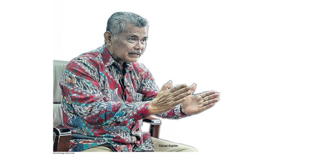 Direktur Utama Bumiputera 1912 Faizal Karim - Bisnis / Anggi Oktarinda\\n