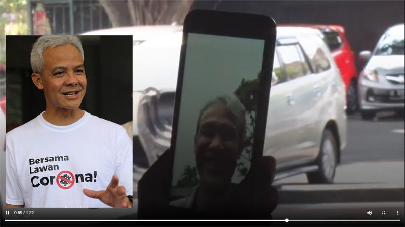Menurut Anda, miripkah wajah Ganjar Pranowo dengan ayah Aris Setyawan?