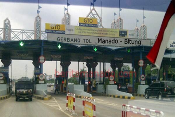 Gerbang tol Manado-Bitung. - Bisnis