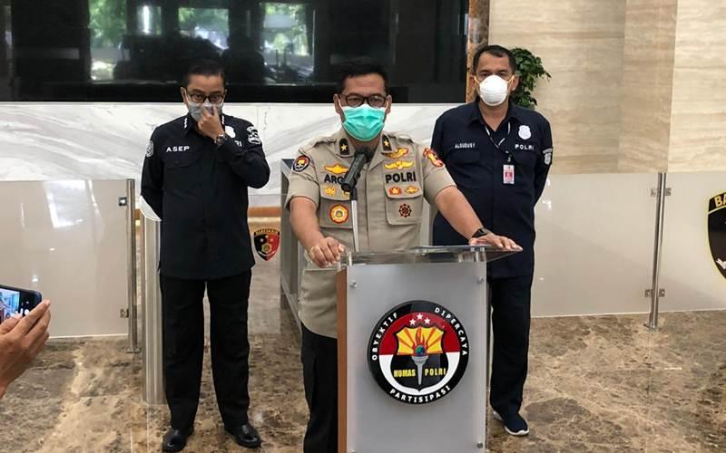 Kepala Biro Penerangan Masyarakat (Karo Penmas) Divisi Humas Polri Brigjen Argo Yuwono - Bisnis/Sholahuddin Al Ayyubi