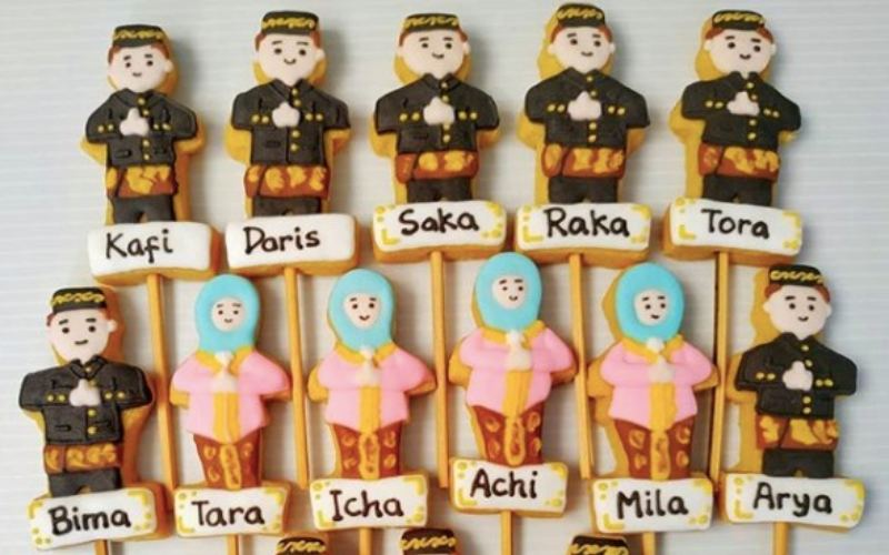 Ilustrasi-DIY Cookie Kit produksi UMKM - Istimewa