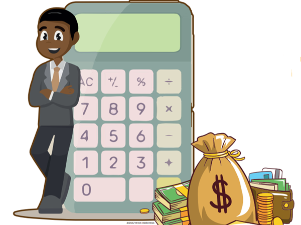 Ilustrasi pengelolaan keuangan. - Bisnis/Yayan Indrayana