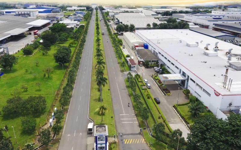Ilustrasi: Kawasan industri Jababeka, Cikarang. - jababeka.com