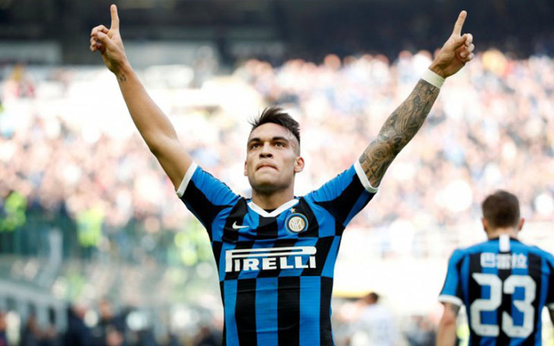 Striker Inter Milan Lautaro Martinez/Antara - Reuters