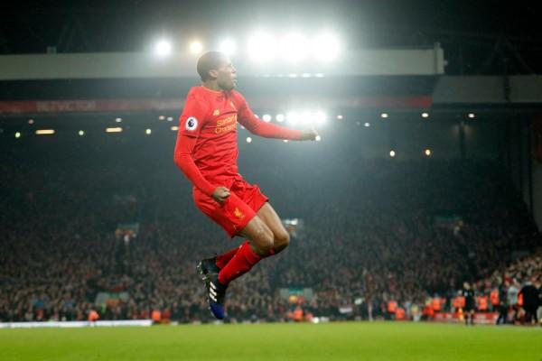 Gelandang Liverpool Georginio Wijnaldum - Twitter Premier League