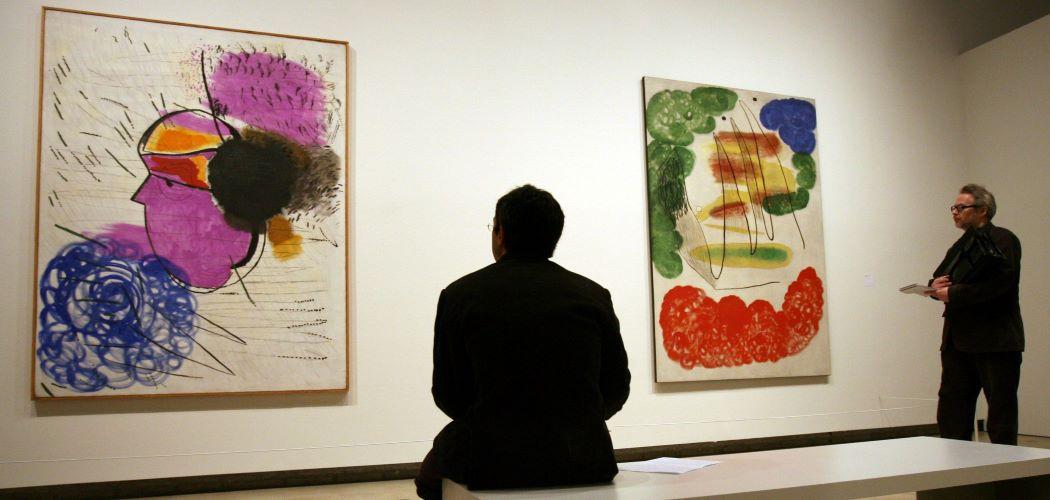 Karya Joan Miro. - Bloomberg / Suzanne Plunkett