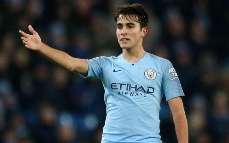 Pemain belakang Manchester City Eric Garcia. - ManCity.com