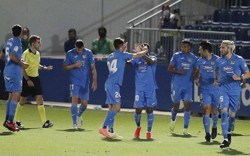 Para pemain Fuenlabrada, klub Segunda atau divisi 2 Spanyol. - Marca