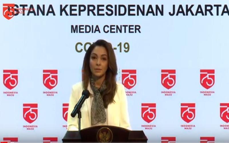 Dokter Reisa Broto Asmoro di Kantor Presiden, Jumat (24/7/2020). JIBI - Bisnis/Nancy Junita