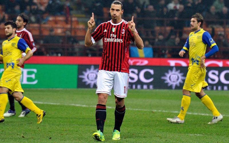 Penyerang AC Milan Zlatan Ibrahimovic - Sempre Milan