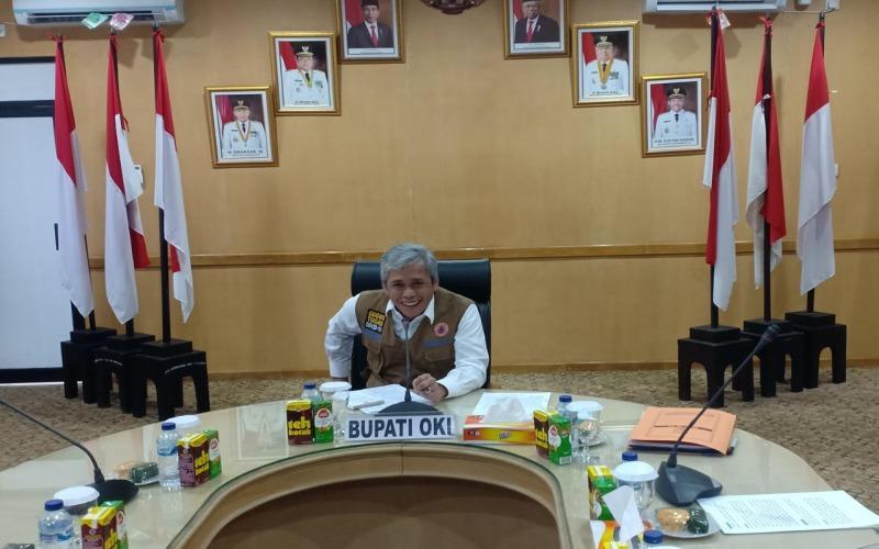 Bupati Kabupaten Ogan Komering Ilir Iskandar. istimewa