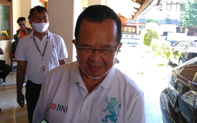 Achmad Purnomo, Wakil Wali Kota Solo, Sabtu (18/7/2020)./JIBI - Solopos/Akhmad Ludiyanto.
