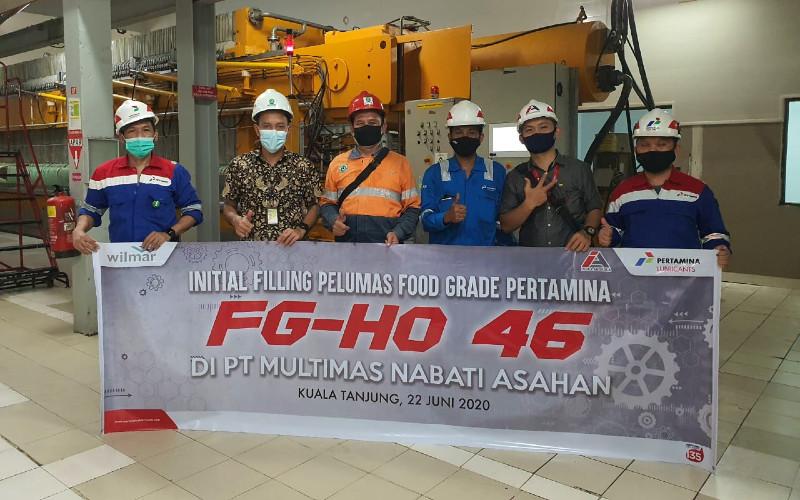Pelumas Pertaminan FG-HO 45 menyasar industri makanan. - Pertamina