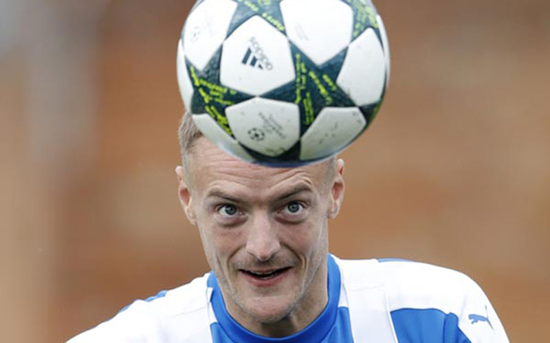 Striker Leicester City Jamie Vardy/Reuters - Carl Recine