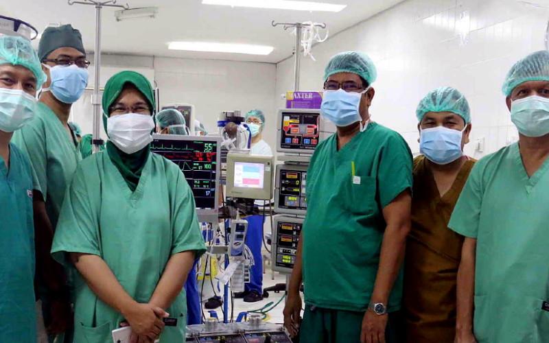 RSUP H. Adam Malik menjadi rumah sakit rujukan penanganan Covid/19. /RSUP H. Adam Malik