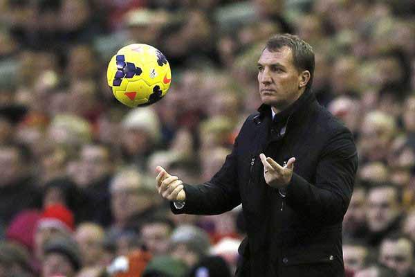 Pelatih Leicester City Brendan Rodgers/Reuters - Phil Noble