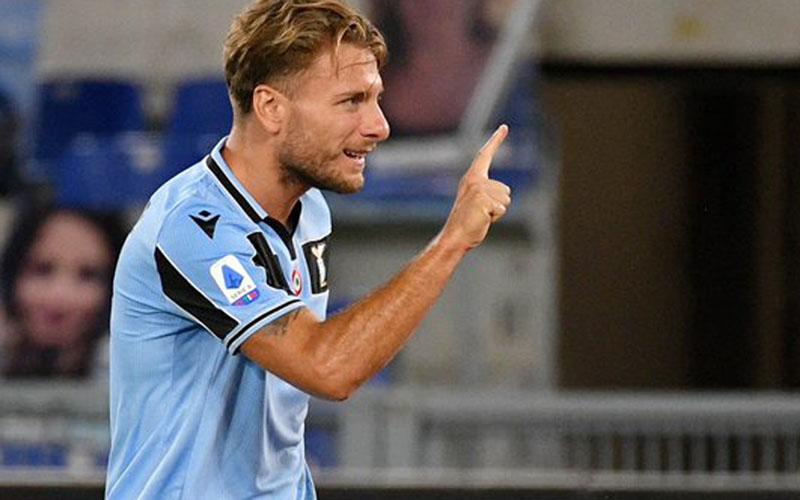 Ujung tombak Lazio Ciro Immobile - Twitter@OfficialSSLazio