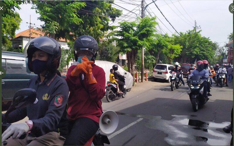 Tangkapan layar Wali Kota Surabaya Tri Rismaharini mengimbau warga taat protokol kesehatan, Minggu (26/7/2020). - Humas Pemkot Surabaya