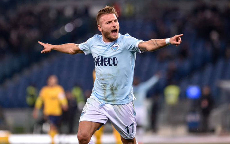 Ujung tombak Lazio Ciro Immobile - Twitter@EueopaLeague
