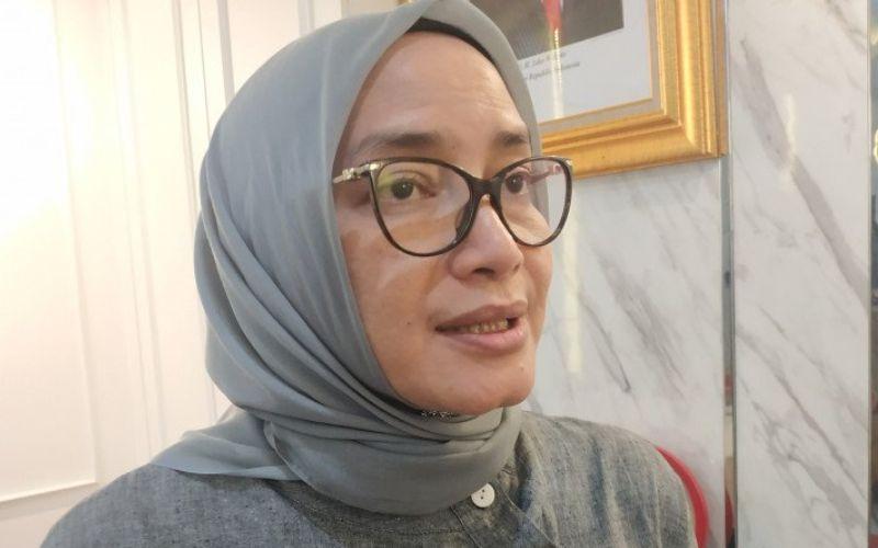 Mantan Komisioner KPU RI Evi Novida GInting Manik (ANTARA / Boyke Ledy Watra)