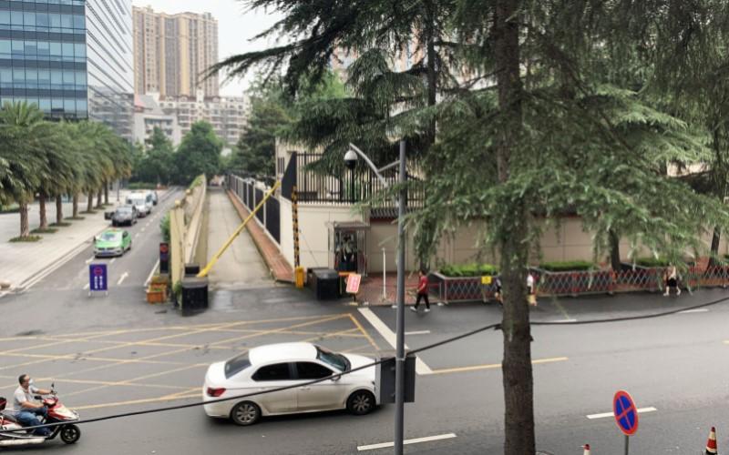 Konsulat AS di Chengdu - Bloomberg