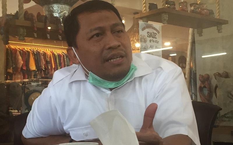 Kepala Kanwil Bulog Divre Jawa Barat Taufan Akib - Bisnis/Wisnu Wage