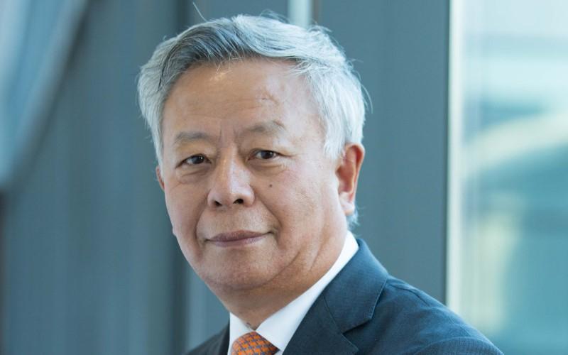 foto presiden terpilih AIIB, Jin Liqun