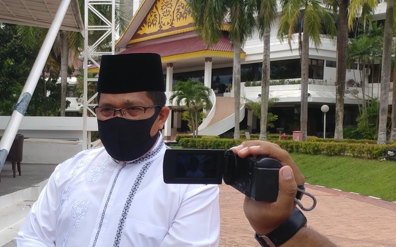Kepala Kemenag Kota Batam Zulkarnain Umar. - Bisnis/Bobi Bani