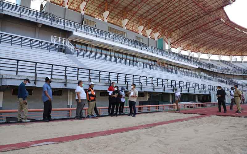 Renovasi Stadion Gelora Bung Tomo Surabaya. Foto: dokumentasi Pemkot Surabaya