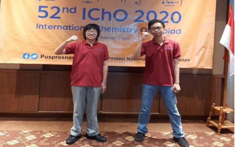 Kementerian Pendidikan dan Kebudayaan (Kemendikbud) memfasilitasi empat siswa jenjang Sekolah Menengah Atas (SMA) untuk mengikuti 52nd  International Chemistry Olympiad (IChO) yang dilaksanakan pada tanggal 23-29 Juli 2020. - Kemendikbud