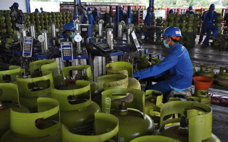 Pertamina menambah pasokan LPG di Jatim sebesar 5 persen pada libur Iduladha. - Istimewa
