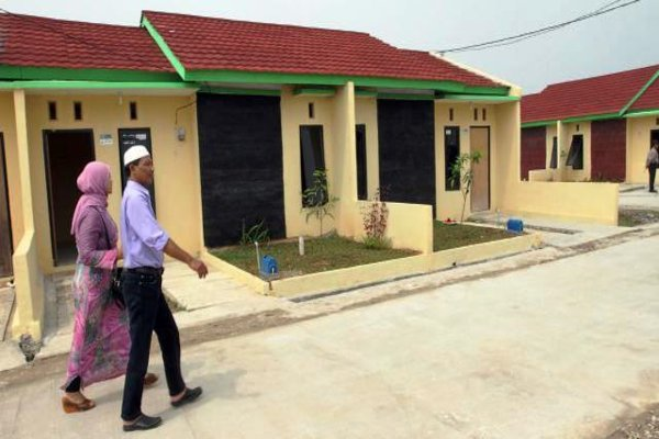Ilustrasi rumah subsidi (Bisnis/Dedi Gunawan)