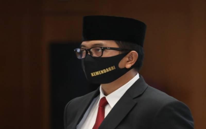 Dirjen Bina Keuangan Daerah Kementerian Dalam Negeri Mochammad Ardian. - kemendagri.go.id