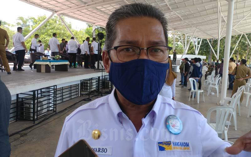 Suwarso, Badan Usaha Bandara Udara (BUBU) Internasional Hang Nadim Batam. - Bisnis/Bobi Bani