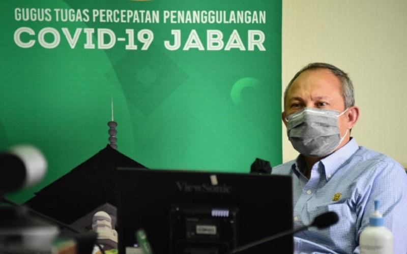 Sekretaris Daerah Jawa Barat Setiawan Wangsaatmadja