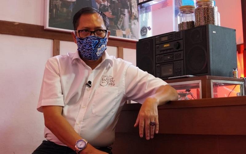 Kepala Dinas Pariwisata dan Kebudayaan (Disparbud) Jabar, Dedi Taufik - Bisnis/Wisnu Wage