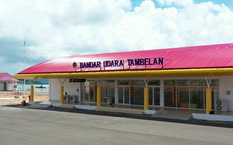 Bandara Tambelan di Kabupaten Bintan, yang diprediksi bisa beroperasi pada tahun ini.  - Dok. Kemenhub