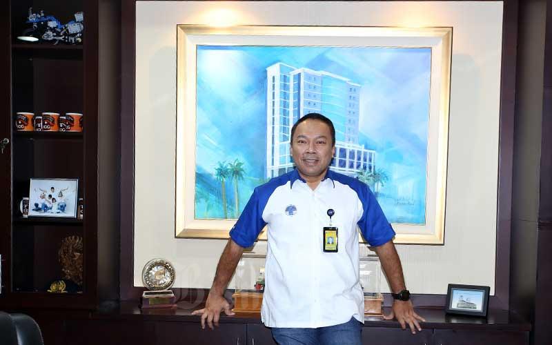 Direktur Utama PT Bank Bukopin Tbk. Rivan A. Purwantono. Bisnis - Abdullah Azzam
