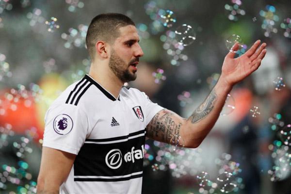 Striker Fulham Aleksandar Mitrovic/Reuters - David Klein