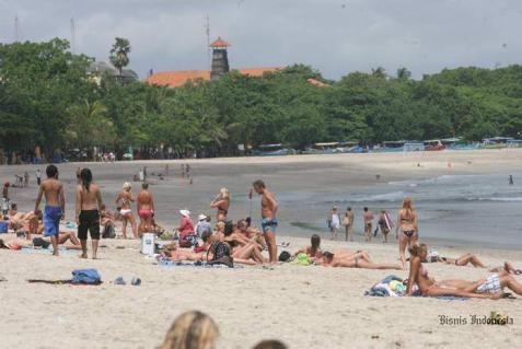 Ilustrasi wisata pantai. - istimewa