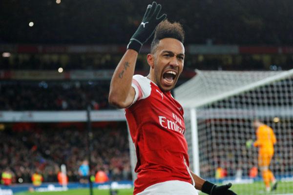 Ujung tombak Arsenal Pierre-Emerick Aubameyang/Reuters - Eddie Keogh