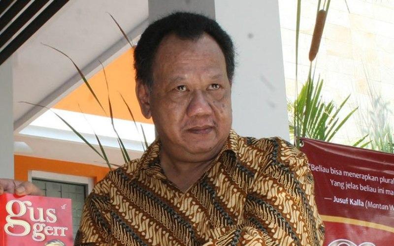Dokumentasi adik bungsu Gus Dur, almarhum Hasyim Wahid (Gus Im) - Foto Antara / Regina Safri