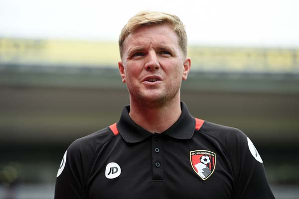 Eddie Howe, mantan pelatih Bournemouth. - Reuters