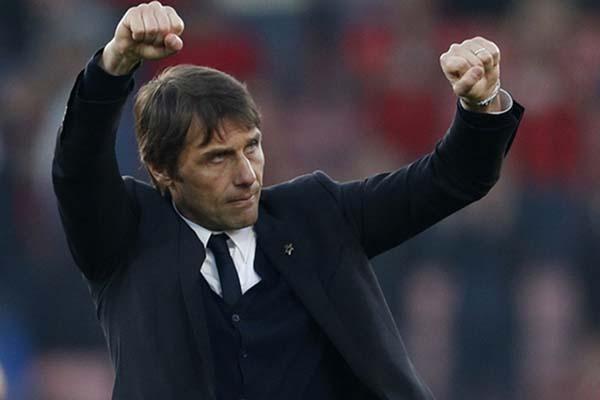Pelatiih Inter Milan Antonio Conte - Reuters