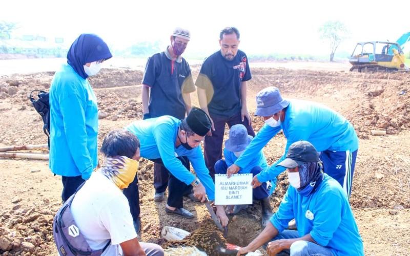 Pemakaman islam Al Azhar potong hewan kurban