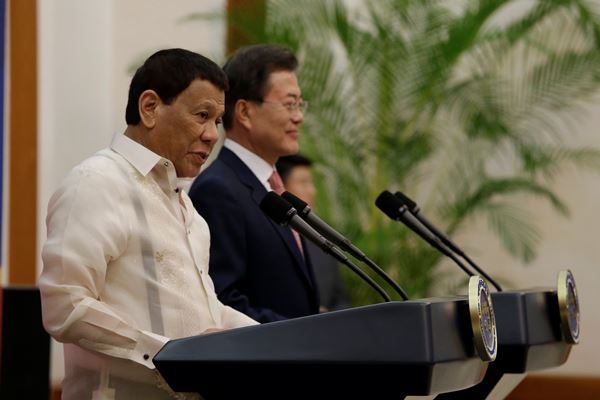 Presiden Filipina Rodrigo Duterte - Reuters