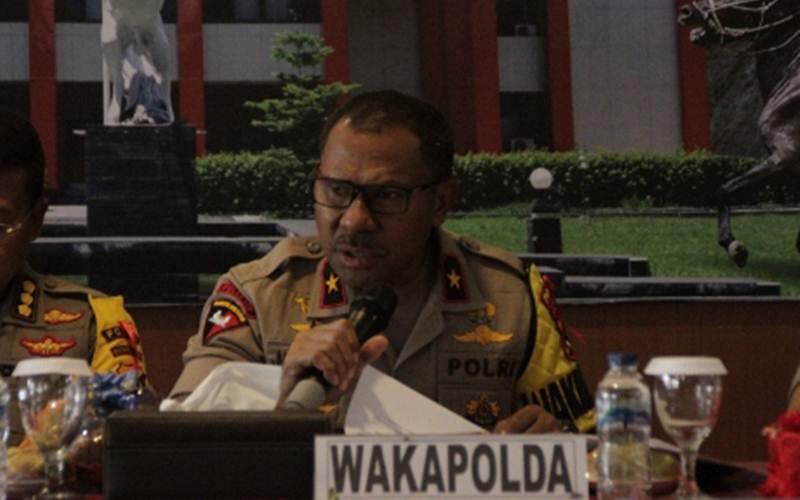 Brigjen Johni Asadoma saat masih menjabat Wakapolda NTT - Antara/Kornelis Kaha